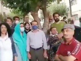 اعتراضات تهران